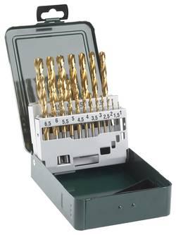 HSS Set de forets pour le métal 19 pièces Bosch Accessories 2609255114 TiN DIN 338 tige cylindrique 1 set