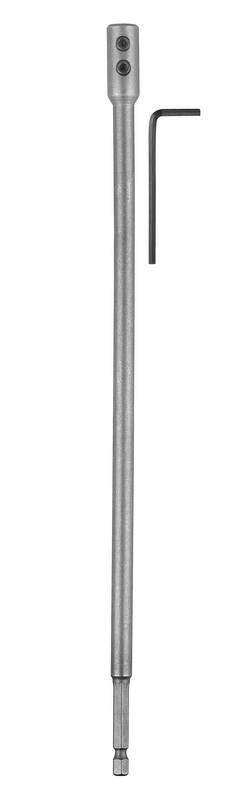 Rallonge pour mèche plate Bosch Accessories 2609255276 Longueur 300 mm tige hexagonale 1 pc(s)