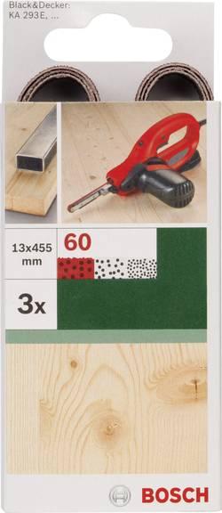 Bande abrasive Bosch Accessories 2609256239 Grain 120 (L x l) 455 mm x 13 mm 3 pc(s)
