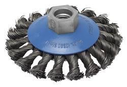Brosse conique pour meuleuse droite et angulaire - fils torsadés, 100 mm Bosch 2609256511