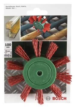 Brosse pinceau pour perceuses - fils nylon au corindon K80, 100 mm Bosch 2609256543