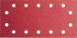 Papier abrasif pour ponceuse vibrante avec bande auto-agrippante, perforé Bosch Accessories 2609256B20 Grain 60 (L x l)