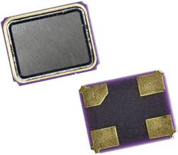 Cristal de quartz 16.384 MHz EuroQuartz 16.384MHz X22/30/30/-40+85/12pF CMS-4 12 pF 2.5 mm 2 mm 0.6 mm 1 pc(s)