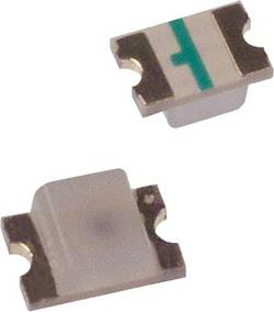 LED CMS 2012 Broadcom HSMG-C170 vert 15 mcd 170 ° 20 mA 2.2 V 1 pc(s)