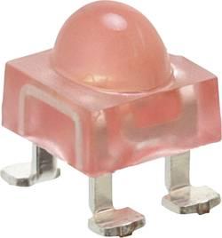 LED CMS SMD-4 rouge 2140 mcd 100 °, 40 ° 20 mA