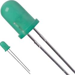 LED 5 mm LUMEX SSL-LX5093PGD vert rond 30 mcd 60 ° 25 mA 2.2 V 1 pc(s)