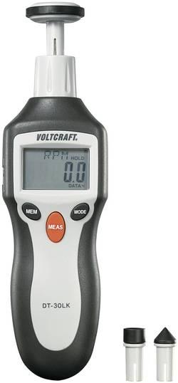 Tachymètre numérique 2 - 200000 tr/min VOLTCRAFT DT-30LK