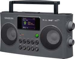Radio portable Sangean WFR-29C audio, stéréo (jack 3.5 mm), USB compatible DLNA, fonction de charge de la batterie noir