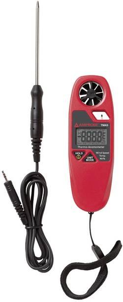 Beha Amprobe TMA5 Anémomètre 1.1 à 20 m/s capteur externe Etalonné selon d'usine (sans certificat)