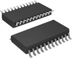 PMIC - Pilote d'affichage Maxim Integrated MAX7219CWG+ SOIC-24 DEL 7 segments + DP 8 chiffres 4 fils, Série 330 mA 1 pc(