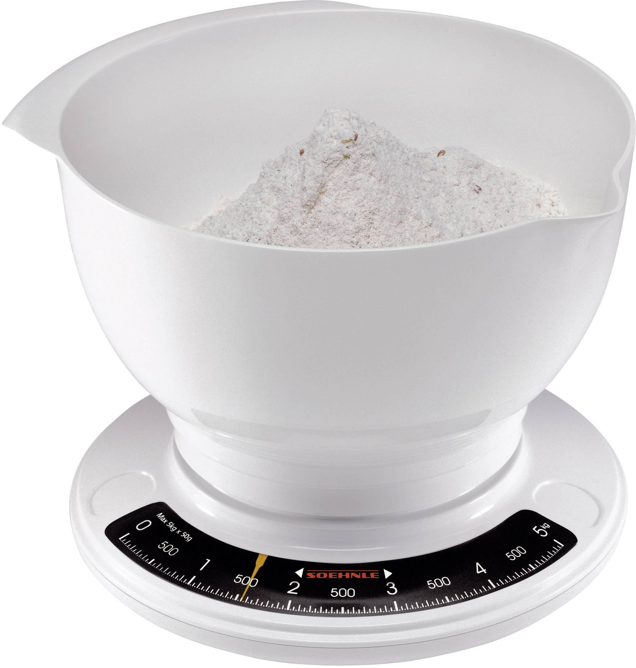 rührschüssel Analogique Balance Balance Soehnle Balance de cuisine Balance Culina Pro 65054 5 kg