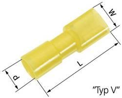 Cosse clip 6.3 x 0.8 mm LappKabel L-RB 63 V 61794970 180 ° entièrement isolé bleu 100 pc(s)