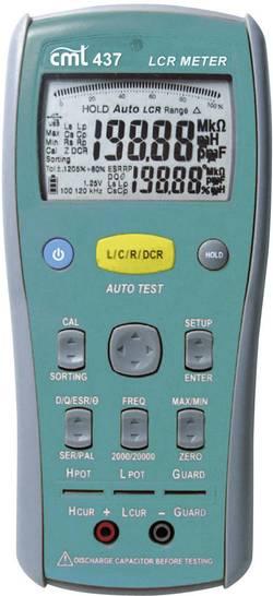 Appareil de mesure LCR jusqu'à 100kHz Etalonné selon ISO CMT 437 9998401232