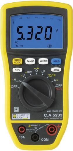 Multimètre numérique TrueRMS CA5233 Etalonné selon DAkkS Chauvin Arnoux CA5233 P01196733