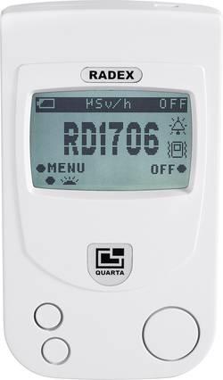 Compteur Geiger RADEX RD1706 Radiation: Beta, Gamma, Rayons X 1 pc(s)