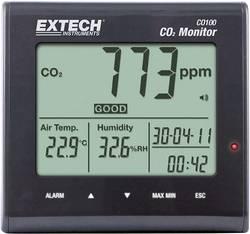 Extech CO100 Appareil de mesure de la qualité de l'air, affichage du dioxyde de carbone, de la température,