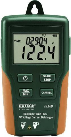 Extech DL160 Enregistreur de données multifonctions Unité de mesure intensité,
