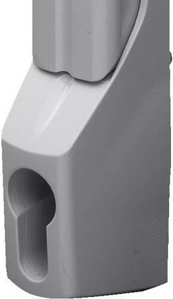 Poignée confort pour serrure demi cylindre Rittal 8611.340 nickel (mat) 1 pièce