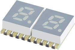 Afficheur 7 segments Kingbright KCDC02-107 Nombre de chiffres: 2 jaune 5.08 mm 1.95 V 1 pc(s)