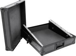 Mallette Omnitronic MCBL-19, 12HE avec poignée de transport noir bois, aluminium, acier, caoutchouc, Mousse caoutchouc