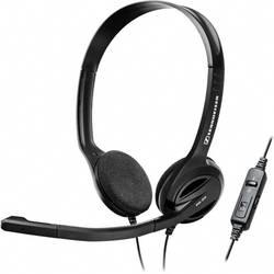Micro-casque PC supra-aural filaire, stéréo Sennheiser PC 36 noir