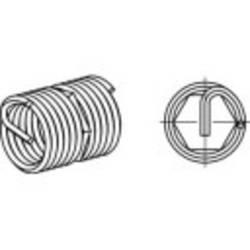 Inserts de filetage Amecoil 1070177 6 mm acier inoxydable A2 3 mm 25 pc(s)