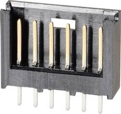 Barrette mâle (standard) série AMPMODU MOD II mâle, droit 6 pôles TE Connectivity 280372-2 Pas: 2.54 mm 1 pc(s)