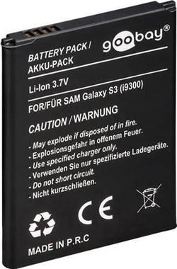 Batterie pour téléphone portable Goobay 43116 Adapté pour: Samsung Galaxy S3 2100 mAh