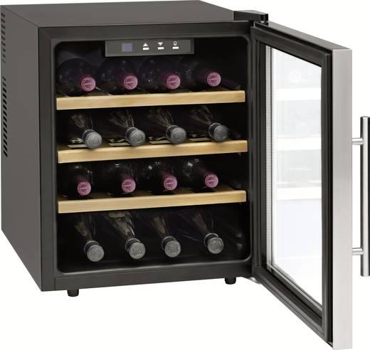cave vin r frig r e 46 l profi cook 501047 a acier. Black Bedroom Furniture Sets. Home Design Ideas