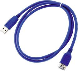 Cordon USB 3.0 type A mâle / type A mâle Conditionnement: 1 pc(s) Würth Elektronik WR-COM 692901100001
