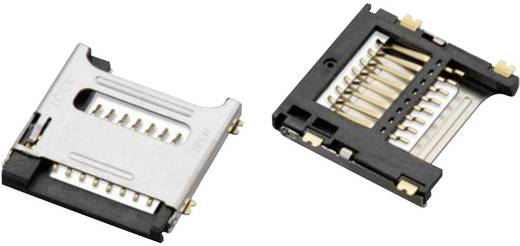 Connecteur De Carte SD 8 Ples 1 Pcs Wrth Elektronik WR CRD 693072010801