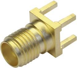 Connecteur SMA embase femelle, verticale pour circuits imprimés Telegärtner J01151A0931 50 Ω 1 pc(s)