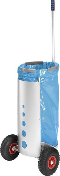 Poubelle 120 l Hailo Müll-Caddy aluminium