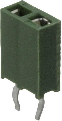 Barrette femelle (standard) série AMPMODU HV-100 femelle, droit 5 pôles TE Connectivity 215297-5 Pas: 2.54 mm 1 pc(s)