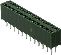 Barrette femelle (standard) série AMPMODU HV-100 femelle, droit 16 pôles TE Connectivity 215307-8 Pas: 2.54 mm 1 pc(s)
