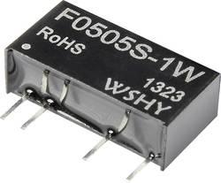 Convertisseur CC/CC pour circuits imprimés F0505S-1W Nbr. de sorties: 1 x 5 V/DC 5 V/DC 200 mA 1 W 1 pc(s)