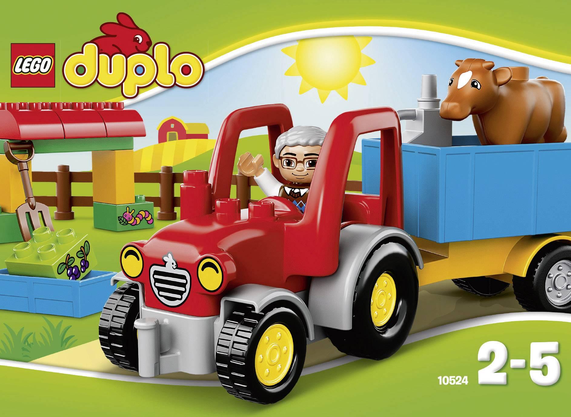 DUPLO 10524 Le Tracteur de la Ferme Jeu de Construction LEGO