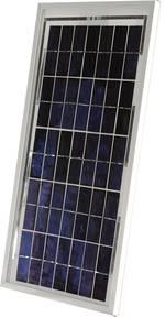 Module solaire monocristallin Sunset SM 10 10 Wp 12 V (L x l x h) 435 x 238 x 20 mm