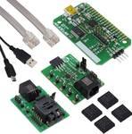 Carte d'évaluation avec authentification DeepCover DS28E22 avec cryptage SHA 256 et mémoire 2KB EEPROM