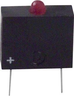 Elément LED Dialight 555-3007F rouge (L x l x h) 10.17 x 7.62 x 2.54 mm 1 pc(s)