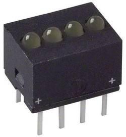 Rangée de LEDs Dialight 555-5403F jaune (L x l x h) 10.29 x 10.17 x 7.77 mm 1 pc(s)
