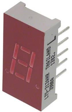 Afficheur 7 segments Lite-On LTS-313AHR Nombre de chiffres: 1 rouge 7.65 mm 2 V 1 pc(s)