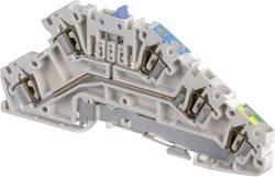 Borne à étages ABB D2.5/5.A.NLP.L 1SNA 290 338 R1100 5 mm ressort de traction Affectation des prises: L gris 1 pc(s)