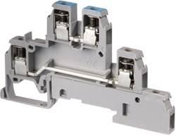 Borne à étages ABB D4/6.LL 1SNA 110 442 R2500 6 mm à vis Affectation des prises: L gris 1 pc(s)