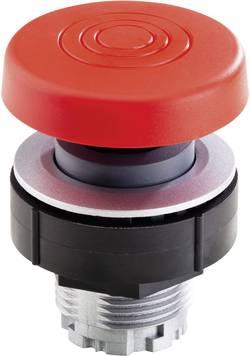 Bouton-poussoir coup de poing Schlegel KRJMS acier inoxydable, rouge 10 pc(s)