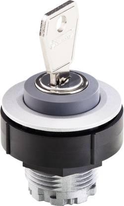 Commutateur à clé acier inoxydable 1 x 90 ° Schlegel KOMBITAST R JUWEL KRJMSSA17E 10 pc(s)