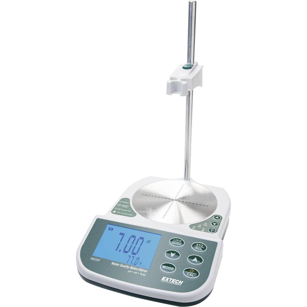 appareil de mesure de table pour mesurer la qualit de l 39 eau ph mv temp rature extech wq500. Black Bedroom Furniture Sets. Home Design Ideas