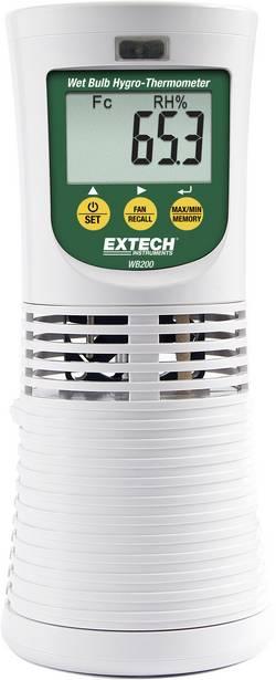 Thermo-hygromètre avec bulbe humide Etalonné selon DAkkS Extech WB200 WB200