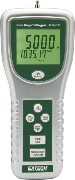 Dynamomètre numérique avec carte SD Extech