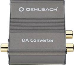 Convertisseur audio Oehlbach 6064 [1x Toslink femelle (ODT), Cinch / RCA femelle - 2x Cinch / RCA femelle] gris